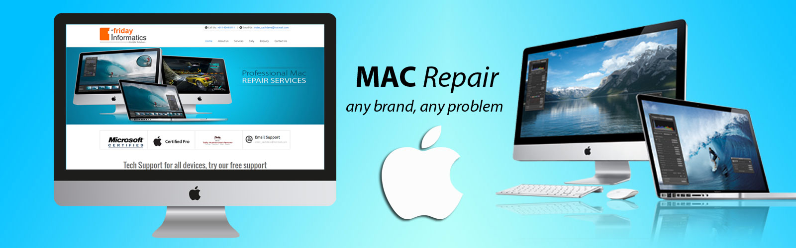 Apple laptop repair Delhi